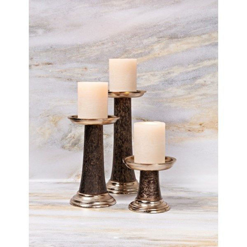 Picture of STUART CANDLEHOLDERS-SET OF 3