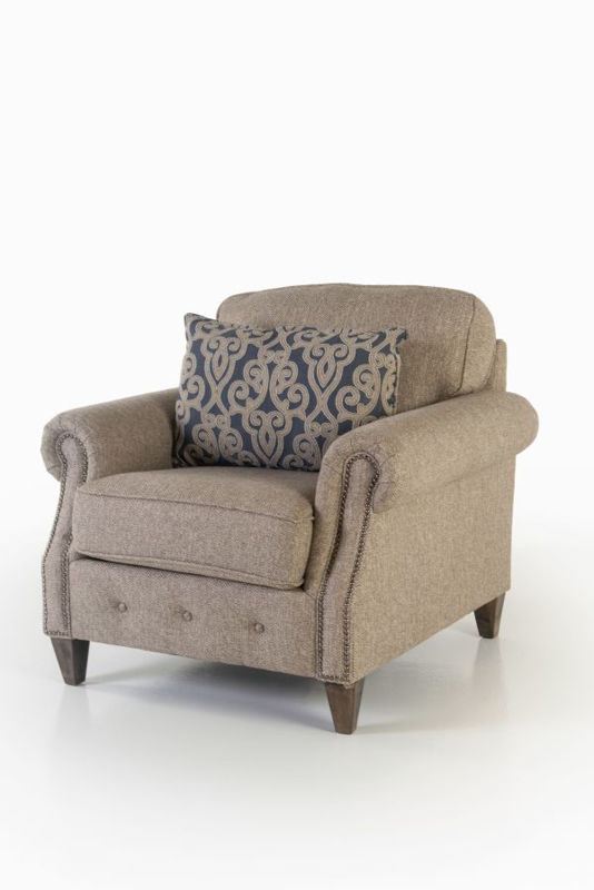 Picture of RUNAROUND STONE UPHOLSTERED CHAIR