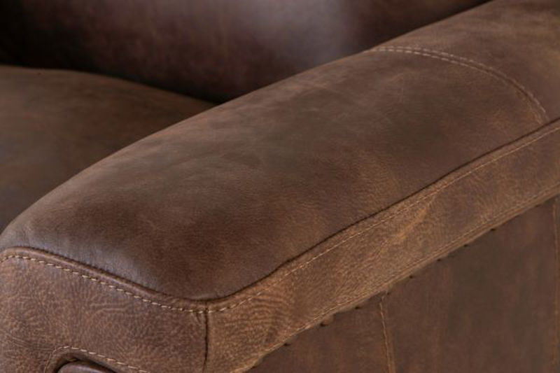 Picture of STALLONE ALL LEATHER SWIVEL CHAIR