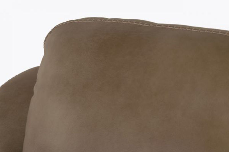 Picture of LUXE LINEN ALL LEATHER CHAIR