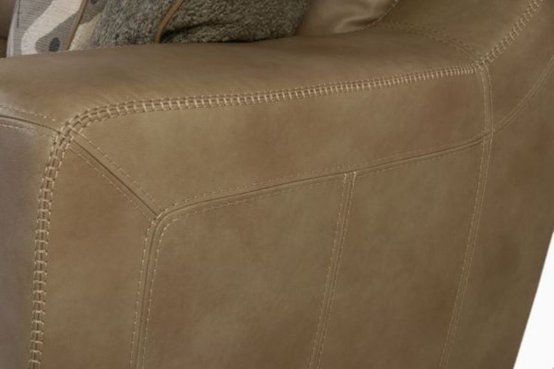 Picture of LUXE LINEN ALL LEATHER SOFA