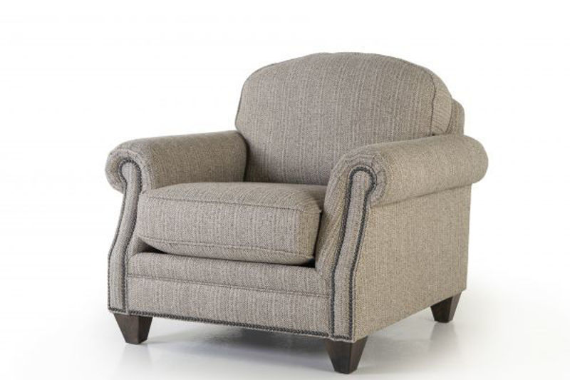 Picture of TILLY SLATE UPHOLSTERED CHAIR