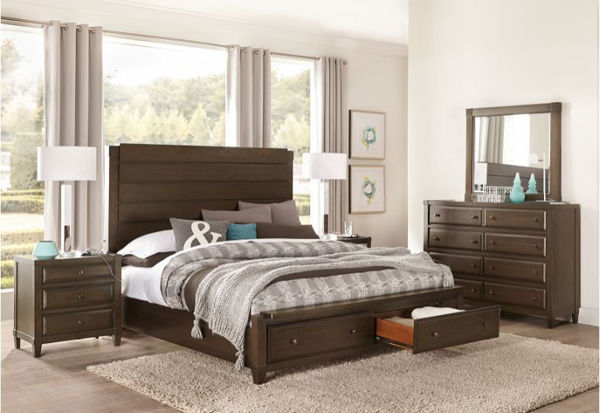 Picture of EASTON KING STORAGE BEDROOM SET