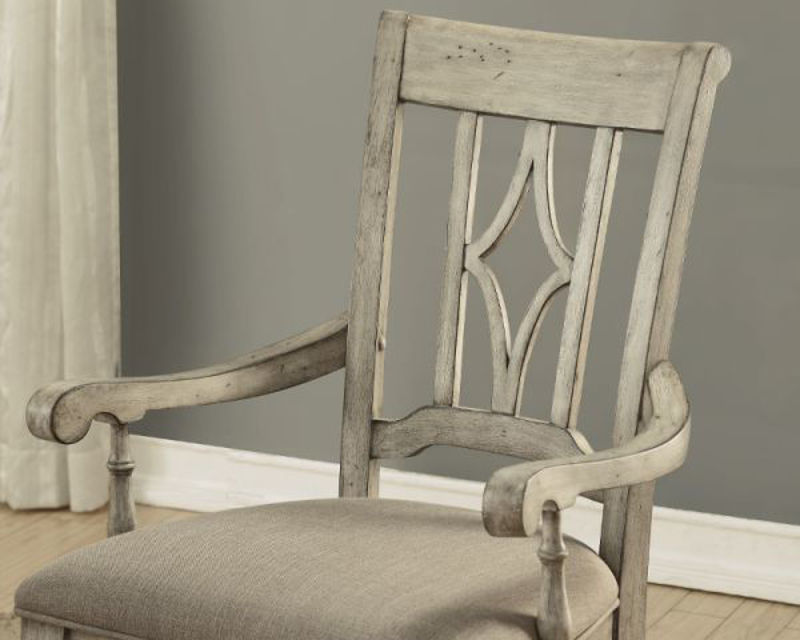 Picture of PLYMOUTH UPHOLSTERED ARM DINING CHAIR