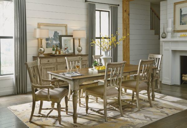 Picture of PLYMOUTH RECTANGULAR DINING ROOM SET
