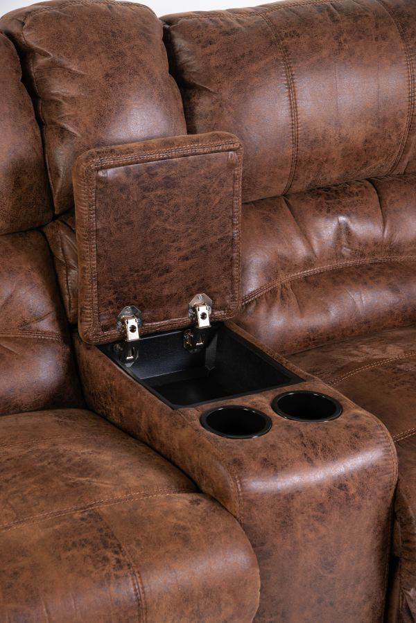 Picture of DAKOTA RECLINING LOVESEAT W/ CONSOLE