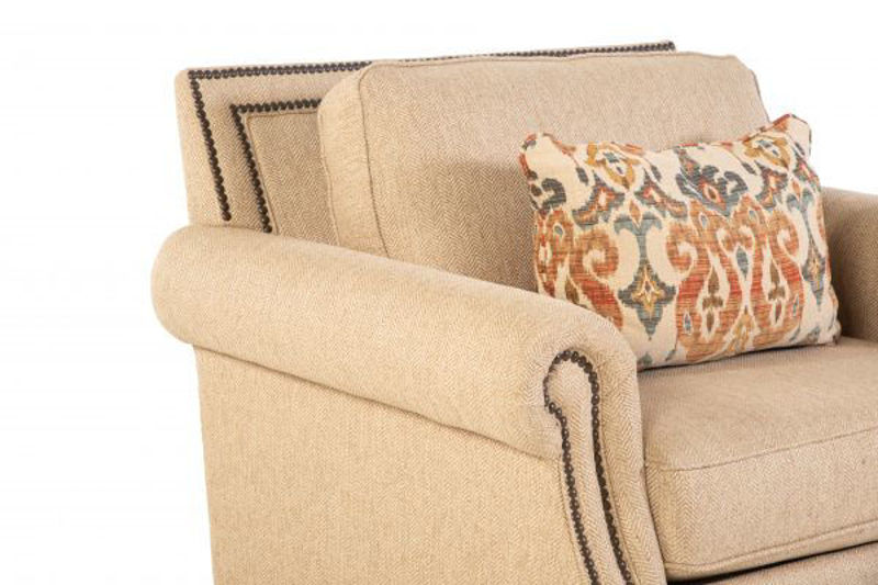 Picture of RUNAROUND BEIGE UPHOLSTERED CHAIR