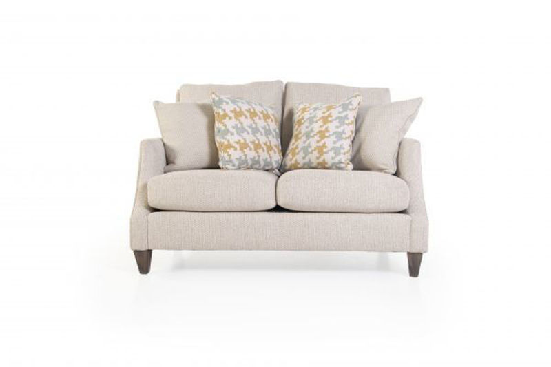 Picture of TWINE AND TWIG SHELLS UPHOLSTERED LOVESEAT