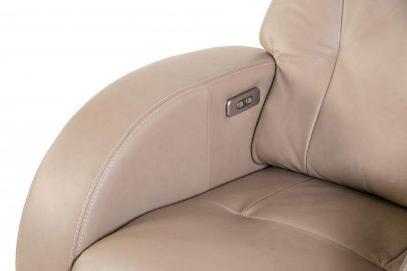Picture of PIKE LEATHER POWER RECLINER