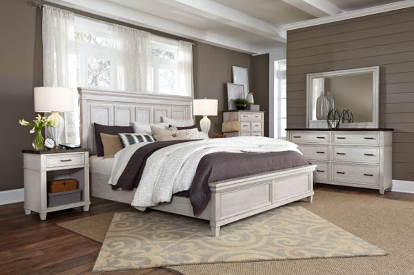 Picture of CARAWAY QUEEN PANEL BEDROOM SET