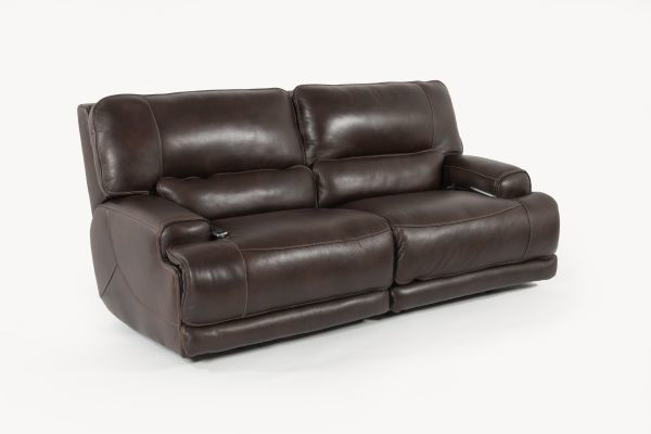 Picture of BERGAMO ALL LEATHER POWER RECLINING SET