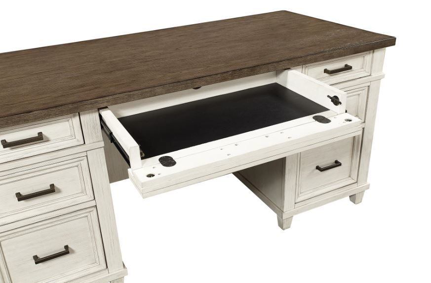 "Picture of CARAWAY 66"" EXECUTIVE DESK"