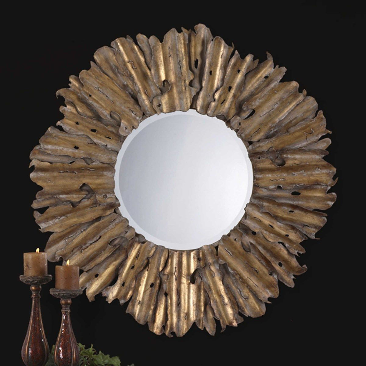Picture of HEMANI ROUND MIRROR