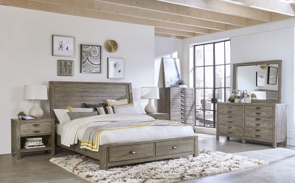 Picture of RADIATA QUEEN STORAGE BED