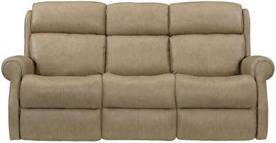 Picture of MCGWIRE ALL LEATHER POWER RECLINING SOFA