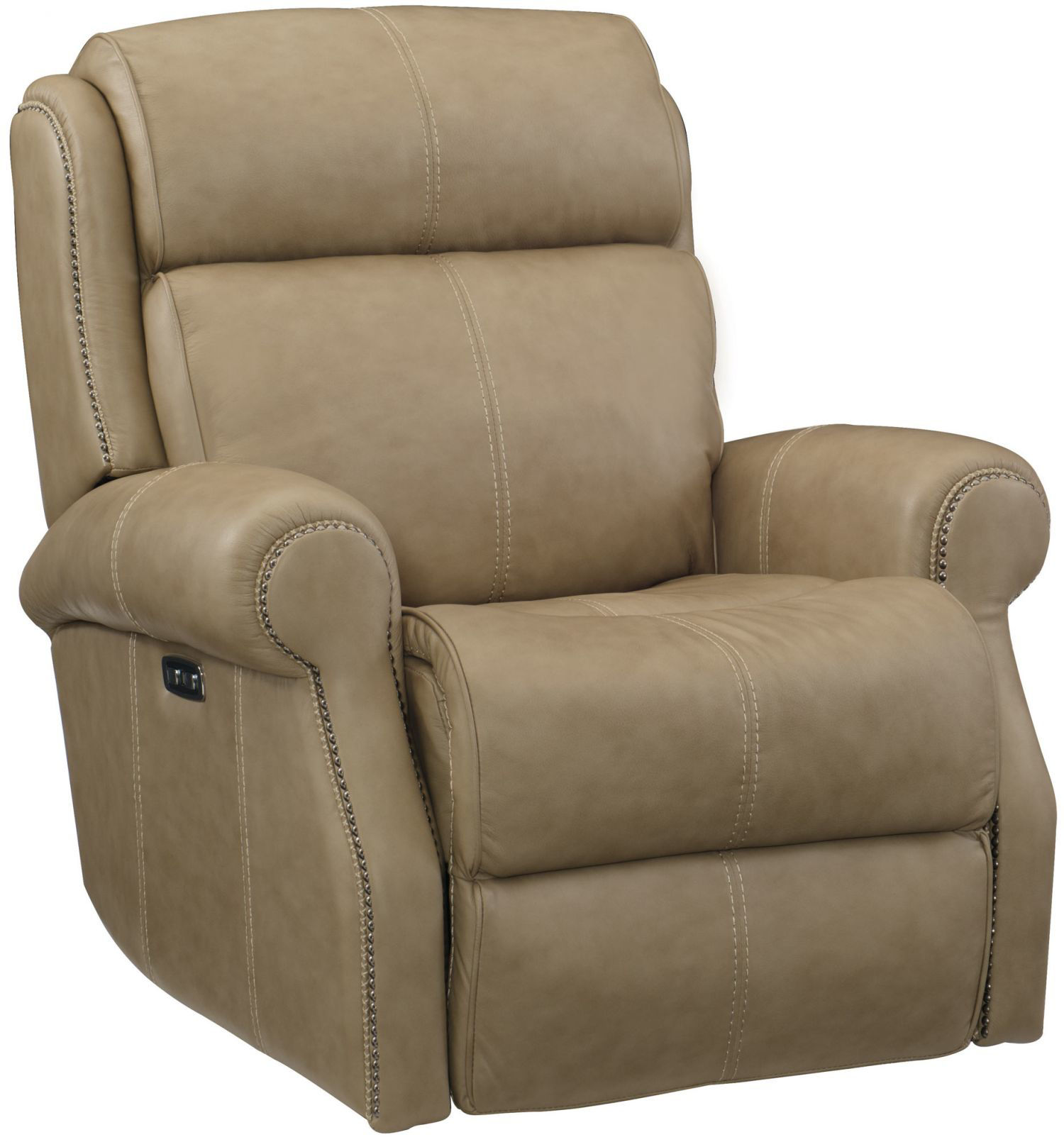 Picture of MCGWIRE ALL LEATHER POWER RECLINER