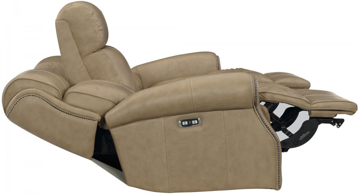 Picture of MCGWIRE ALL LEATHER POWER RECLINING SET