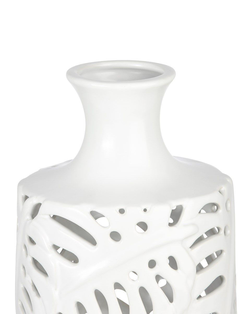 Picture of PALM LEAF SMALL CUTWORK VASE