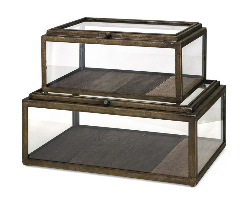 Picture of WINTHORP GLASS AND WOOD BOXES