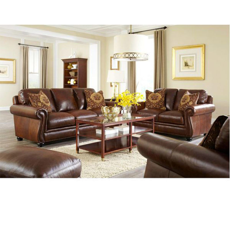 Picture of WESTMINISTER ALL LEATHER LIVING ROOM SET