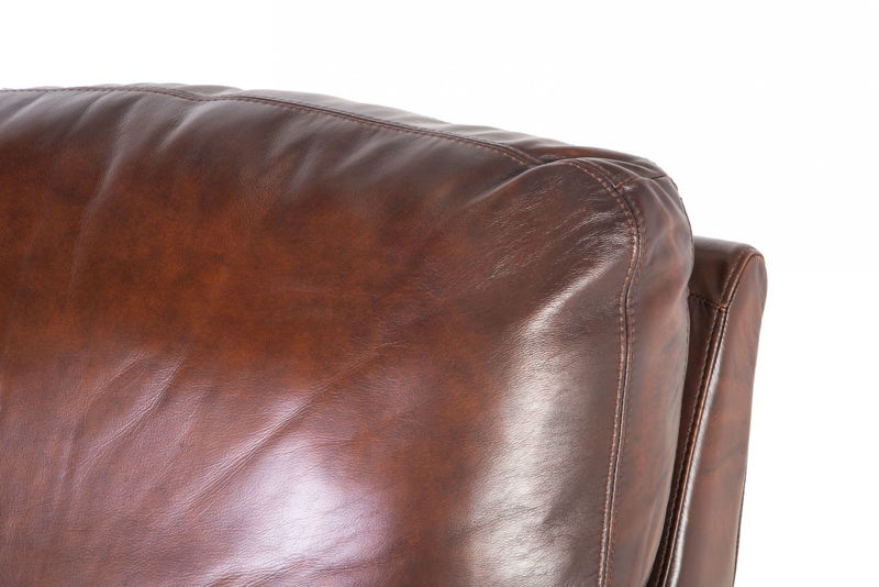 Picture of WESTMINISTER ALL LEATHER PUSH BACK RECLINER