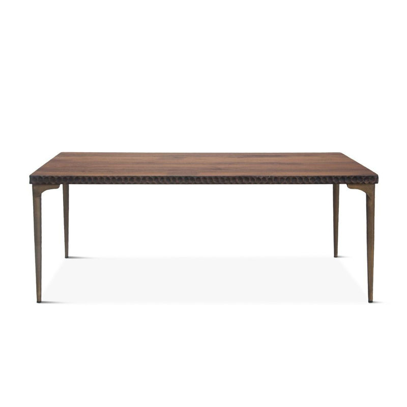 "Picture of SANTA CRUZ RECTANGULAR 78"" DINING TABLE"