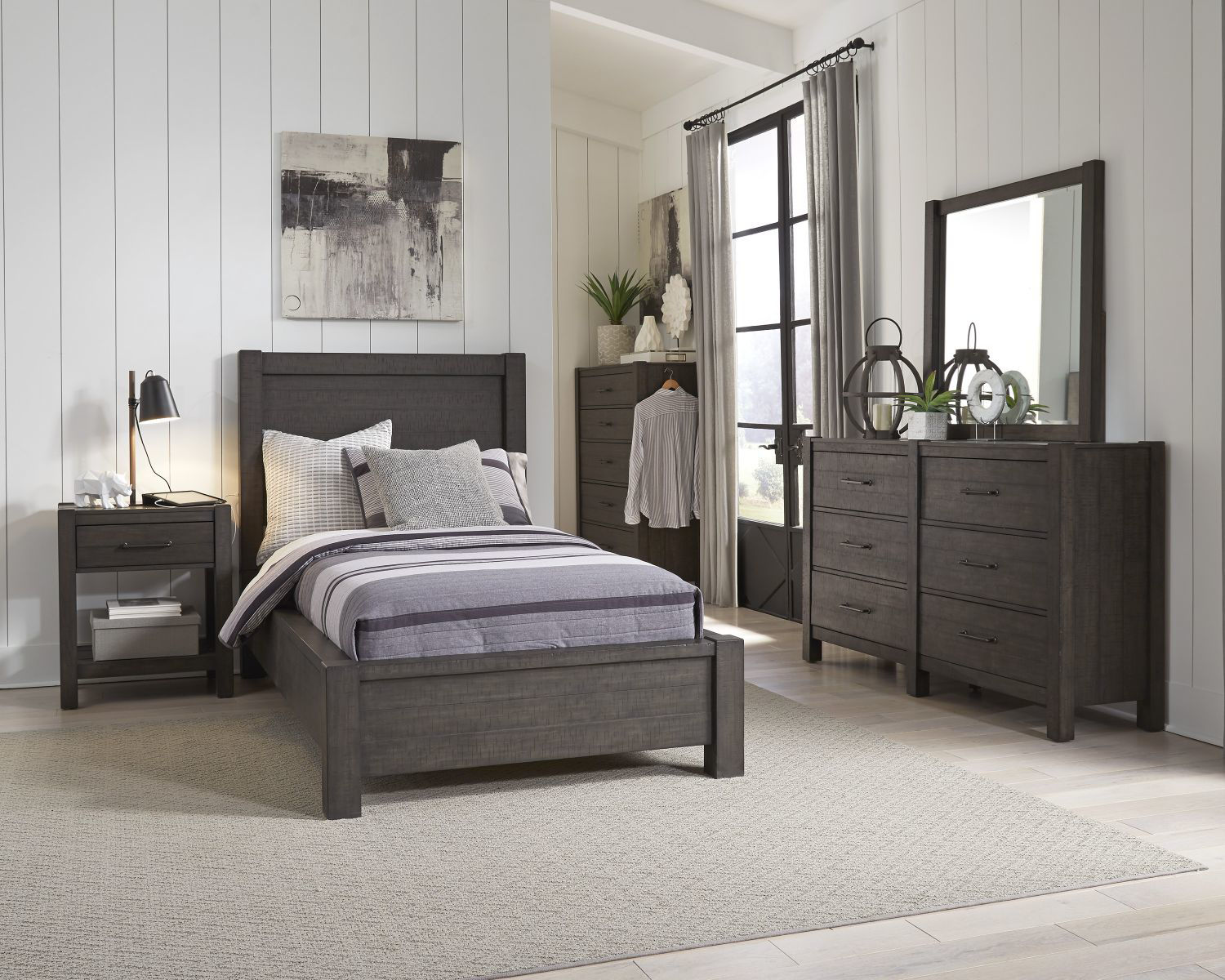 Picture of MILL CREEK FULL PLATFORM BEDROOM SET