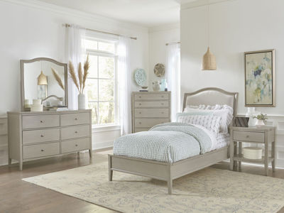 Picture of CHARLOTTE FULL UPHOLSTERED BEDROOM SET