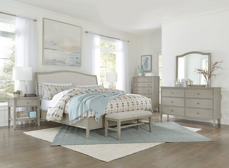 Charlotte Queen Upholstered Bedroom Set By Aspen Home Furniture Texas Furniture Hut