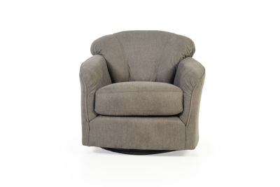 Picture of COMFY UPHOLSTERED SWIVEL CHAIR