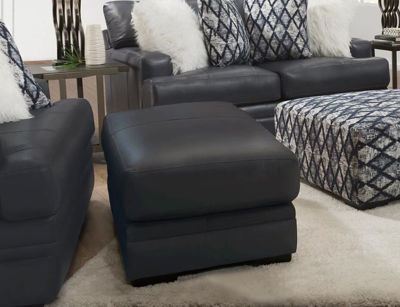 Picture of SEDONA LEATHER OTTOMAN