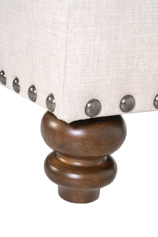 Picture of FRESCO UPHOLSTERED OTTOMAN