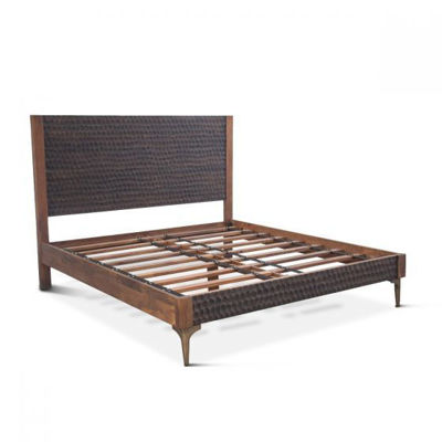 Picture of SANTA CRUZ TWO-TONE PLATFORM KING BED