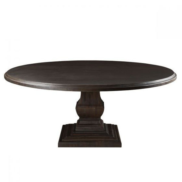 """Picture of NIMES 60"""" ROUND SOLID WOOD DINING TABLE"""
