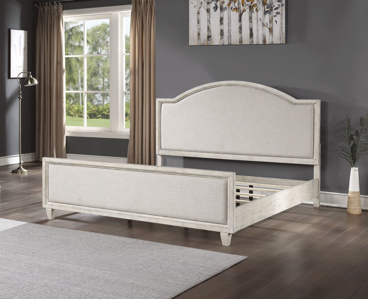 Picture of NEWPORT UPHOLSTERED KING BED