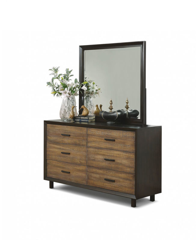 Picture of ALPINE KING PANEL BEDROOM SET