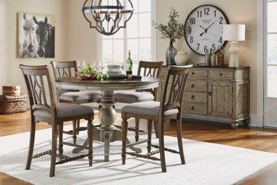 Picture of PLYMOUTH ROUND COUNTER DINING ROOM SET