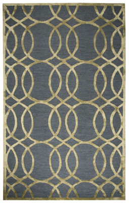 Picture of MONROE GRAY WOOL RUG