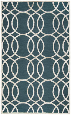 Picture of SP.O. MONROE TEAL WOOL RUG