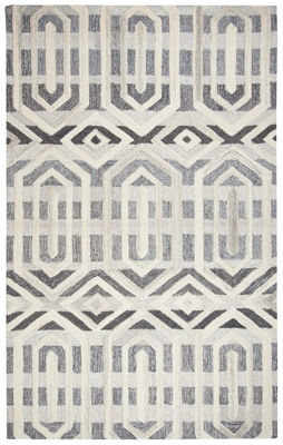 Picture of SP.O. SUFFOLK GRAY WOOL RUG