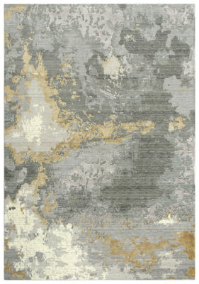 Picture of ARTISTRY GRAY WOOL RUG