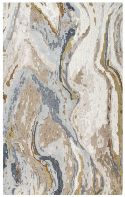 Picture of SP.O. VOGUE BEIGE WOOL RUG