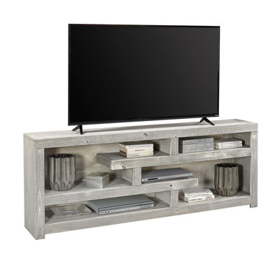 "Picture of AVERY LOFT 72"" LIMESTONE DISPLAY CONSOLE"