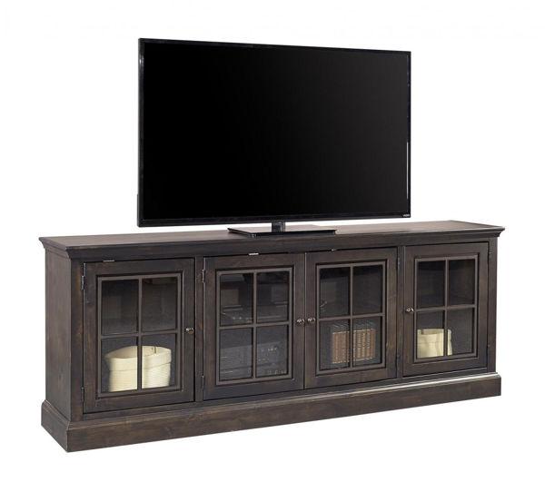 "Picture of CHURCHILL 84"" GHOST BLACK TV CONSOLE"