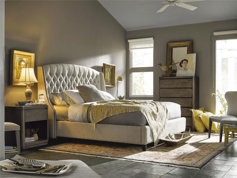 Picture of HALSTON KING UPHOLSTERED BED
