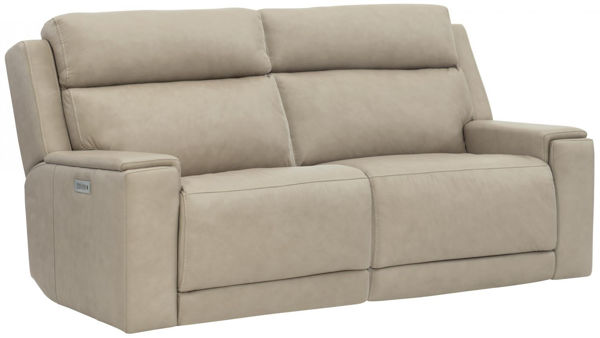Picture of EMERSON LEATHER LOVESEAT