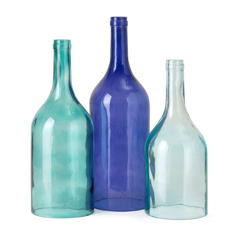 Picture of MONTEITH BLUE CLOCHE BOTTLES