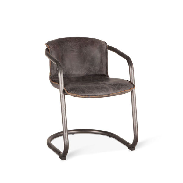 Picture of ANNECY ANTIQUE EBONY DINING CHAIR