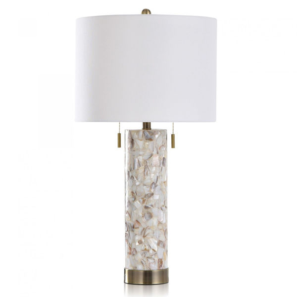 Picture of SHELL/STEEL TABLE LAMP