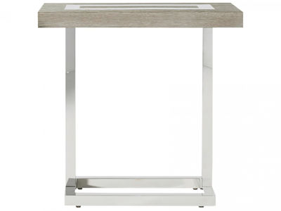 Picture of WYATT ROUND CHAIRSIDE TABLE